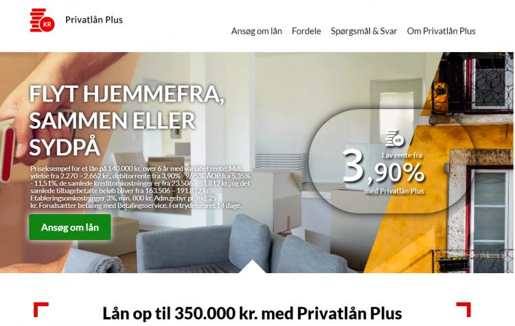 privatlaan plus santandersantander privatlån plus